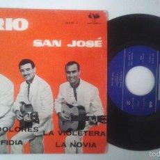 Discos de vinilo: TRIO SAN JOSE. MARIA DOLORES + 3. EP. VERGARA 1962. Lote 56700259
