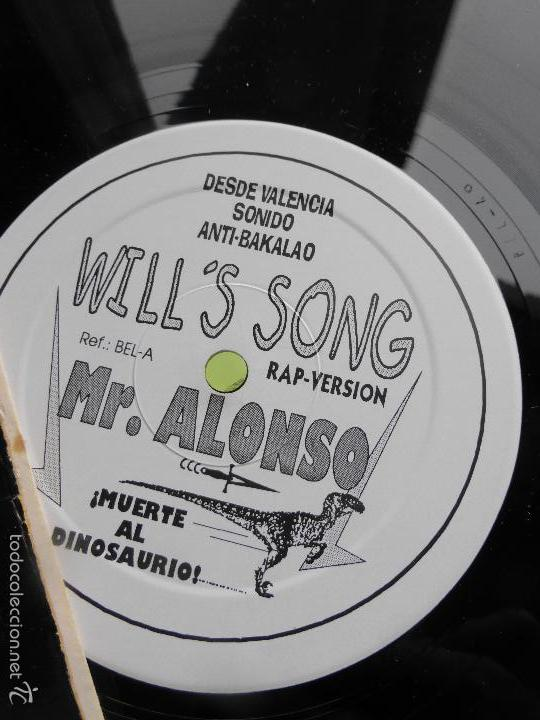 Discos de vinilo: EL PRINCIPE DE BEL - AIR , MR ALONSO - DESDE VALENCIA SONIDO ANTI - BAKALAO - RAP - VERSION - Foto 2 - 56703214