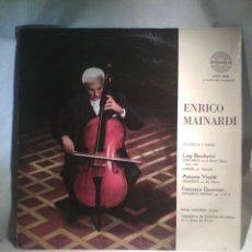 Discos de vinilo: DISCO DE VINILO ENRICO MAINARDI (EDICIÓN ARGENTINA AÑOS 50). Lote 56703536