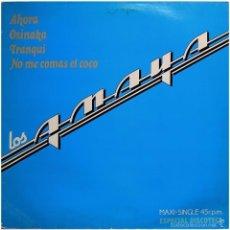 Discos de vinilo: LOS AMAYA (TONY RONALD) – AHORA - MAXI PROMO SPAIN 1983 - ARIOLA 0310. Lote 56705487