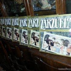 Discos de vinilo: COLECCION 24 DISCOS - ZARZUELAS , JOYAS MUSICALES DEL GENERO CHICO 8 CAJA CON 3 DISCOS CADA UNO. Lote 56713965