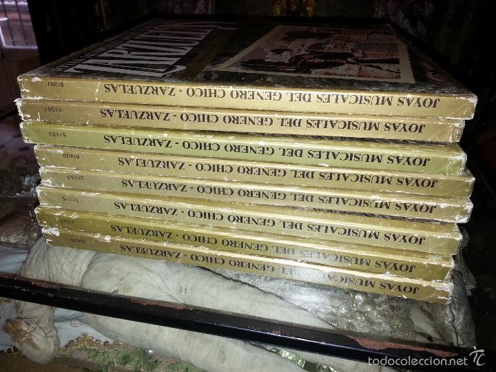 Discos de vinilo: coleccion 24 discos - zarzuelas , joyas musicales del genero chico 8 caja con 3 discos cada uno - Foto 4 - 56713965