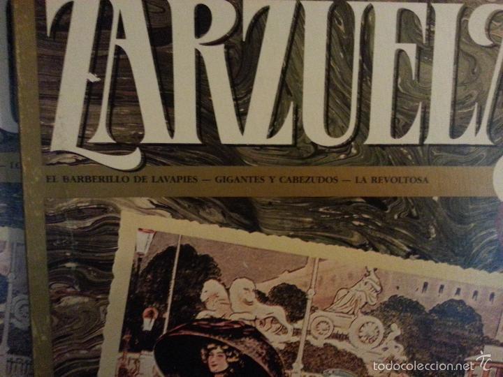 Discos de vinilo: coleccion 24 discos - zarzuelas , joyas musicales del genero chico 8 caja con 3 discos cada uno - Foto 9 - 56713965