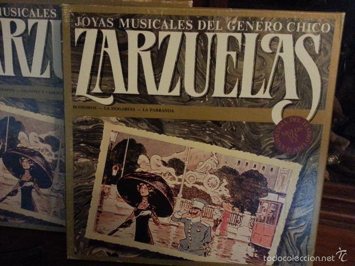 Discos de vinilo: coleccion 24 discos - zarzuelas , joyas musicales del genero chico 8 caja con 3 discos cada uno - Foto 10 - 56713965