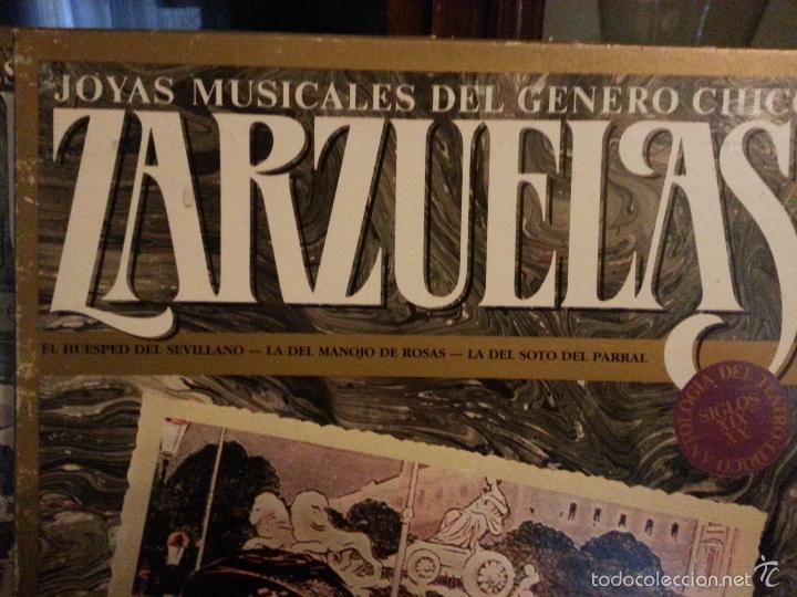 Discos de vinilo: coleccion 24 discos - zarzuelas , joyas musicales del genero chico 8 caja con 3 discos cada uno - Foto 12 - 56713965