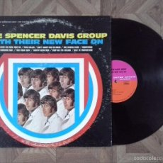 Discos de vinilo: SPENCER DAVIS GROUP - WITH THEIR NEW FACE ON - 3º LP USA 1969 - CARPETA VGVG+ VINILO VG+. Lote 56719479