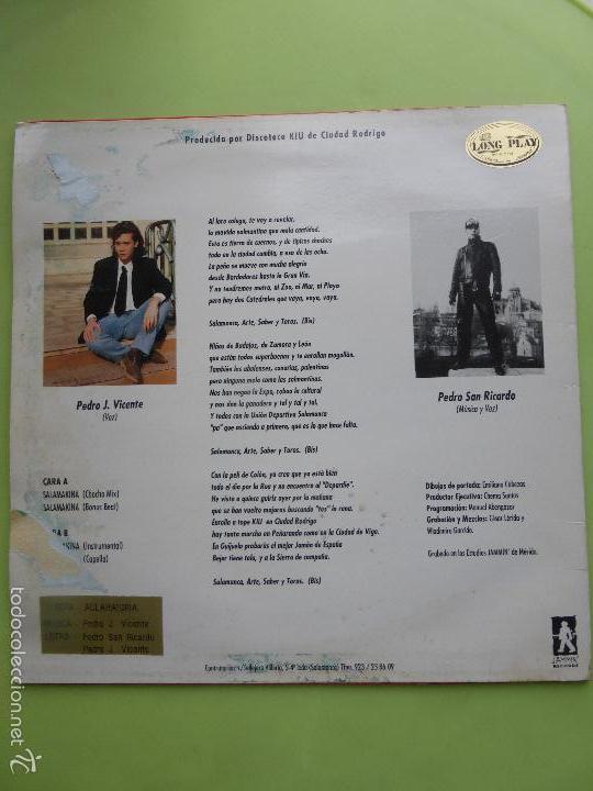Discos de vinilo: LOS PEDROS / SALAMAKINA / BAKALAO MADE IN SALAMANCA - Discoteca Kiu - SALA MAKINA - Foto 3 - 56719825