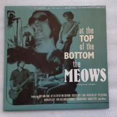 Discos de vinilo: THE MEOWS - AT THE TOP OF THE BOTTOM LP 2005 POWER POP. Lote 56721889