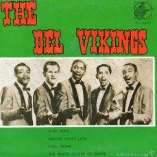 Discos de vinilo: DEL VIKING - PIONEROS DEL ROCK AND ROLL Nº 3, EP, FLAT TYRE + 3, AÑO 1986. Lote 56721982