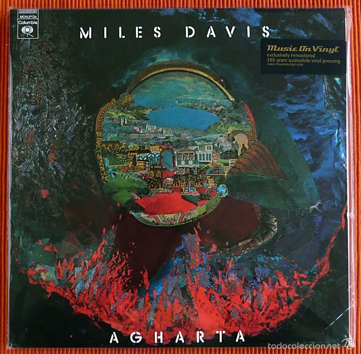 MILES DAVIS - AGHARTA 180G VINYL 2 LP AUDIOPHILE MUSIC ON VINYL PRECINTADO (Música - Discos - LP Vinilo - Jazz, Jazz-Rock, Blues y R&B)