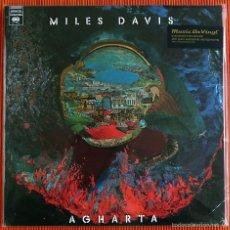Discos de vinilo: MILES DAVIS - AGHARTA 180G VINYL 2 LP AUDIOPHILE MUSIC ON VINYL PRECINTADO. Lote 56722171