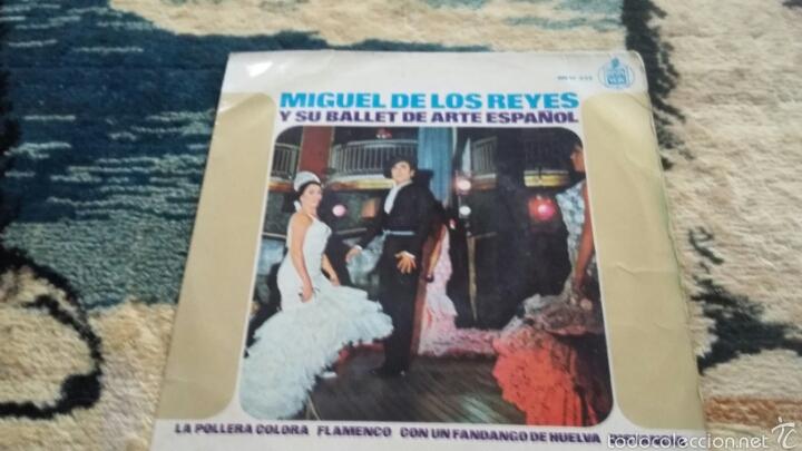VINILO MIGUEL DE LOS REYES (Música - Discos de Vinilo - Maxi Singles - Flamenco, Canción española y Cuplé)
