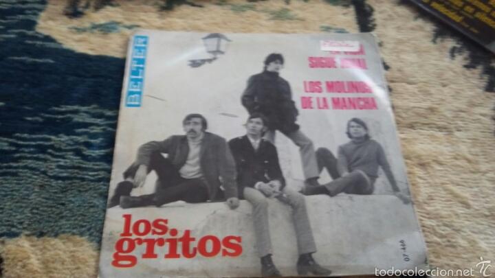 VINILO LOS GRITOS (Música - Discos de Vinilo - Maxi Singles - Flamenco, Canción española y Cuplé)