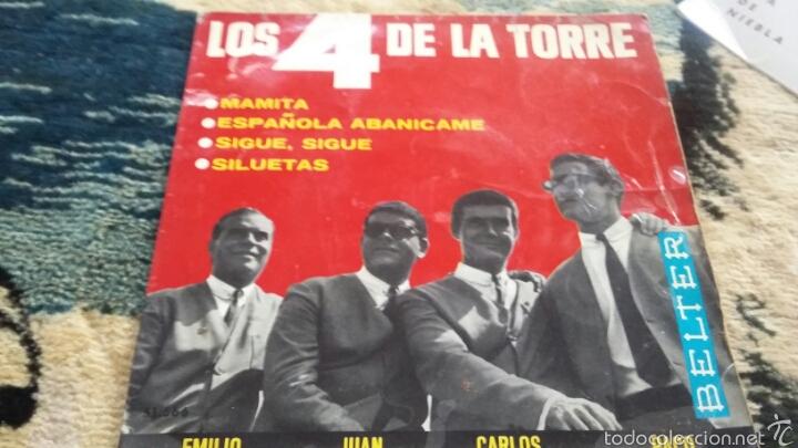 VINILO LOS 4 DE LA TORRE (Música - Discos de Vinilo - Maxi Singles - Flamenco, Canción española y Cuplé)