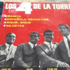 Discos de vinilo: VINILO LOS 4 DE LA TORRE. Lote 56723012
