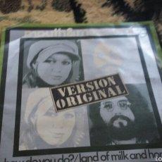 Discos de vinilo: VINILO MOUTH&MACNEAL. Lote 56723127