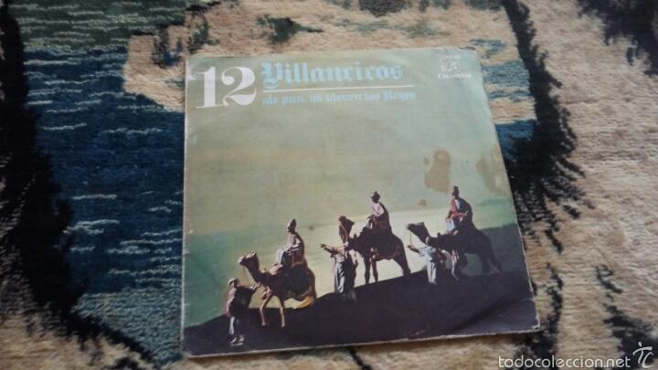 VINILO 12 VILLANCICOS (Música - Discos de Vinilo - Maxi Singles - Flamenco, Canción española y Cuplé)