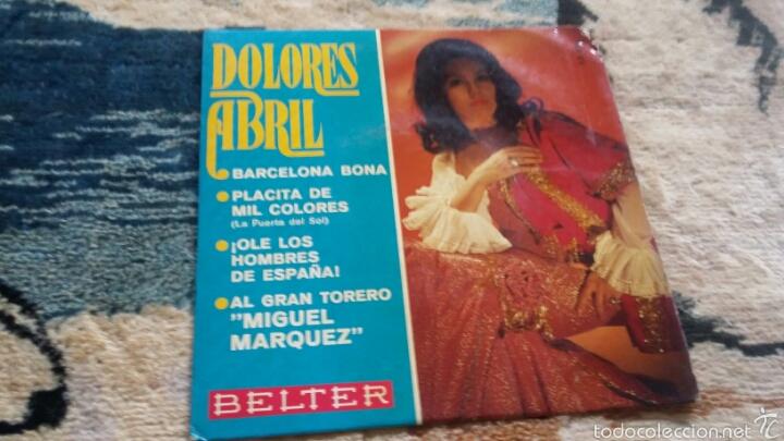 VINILO DOLORES ABRIL (Música - Discos de Vinilo - Maxi Singles - Flamenco, Canción española y Cuplé)