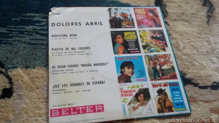 Discos de vinilo: Vinilo dolores abril - Foto 2 - 56723439