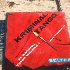 Discos de vinilo: VINILO KRIMINAL TANGO. Lote 56723640