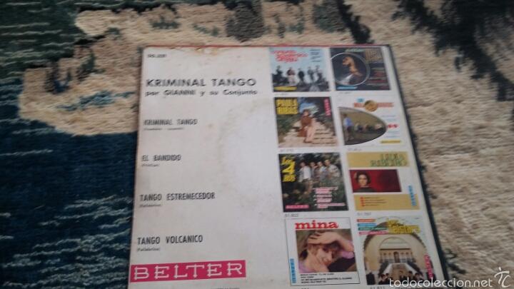 Discos de vinilo: Vinilo kriminal tango - Foto 2 - 56723640