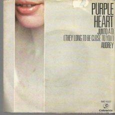 Discos de vinilo: PURPLE HEART SINGLE SELLO COLUMBIA AÑO 1970 EDITADO EN ESPAÑA . Lote 56724321