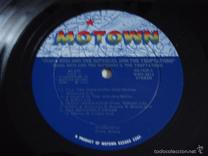 Discos de vinilo: DIANA ROSS JOIN & THE TEMPTATIONS & THE SUPREMES USA-1968 LP33 MOTOWN - Foto 5 - 56725019