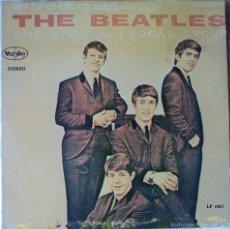 Discos de vinilo: THE BEATLES - INTRODUCING (VEE JAY) - 1.ª EDICIÓN DE USA. Lote 56734626