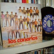Discos de vinilo: LOS CANARIOS SINGLE PIPPERMINT FRAPPÉ SOUL MOD PROGRESIVO SPAIN EX/EX. Lote 56735072
