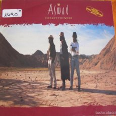 Discos de vinilo: LP - ASWAD - DISTANT THUNDER (SPAIN, ISLAND RECORDS 1988). Lote 56735702