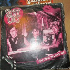Discos de vinilo: STRAY CATS - YOU DON'T BELIEVE ME - WASN'T THAT GOOD. SINGLE ARISTA - 1981. Lote 56739194