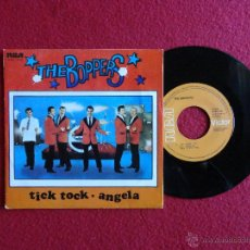 Discos de vinilo: THE BOPPERS - TICK TOCK / ANGELA // SINGLE // SPAIN // 1980. Lote 56741108