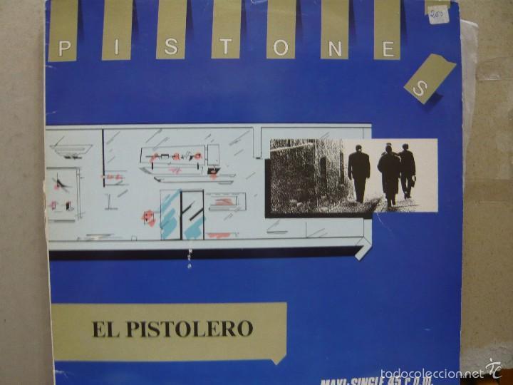 PISTONES. EL PISTOLERO / METADONA MR MF-600943 MAXI. 1983 (Música - Discos de Vinilo - Maxi Singles - Grupos Españoles de los 70 y 80)