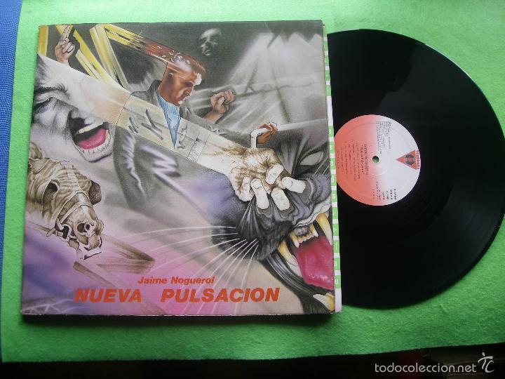 JAIME NOGUEROL. NUEVA PULSACIÓN. VICTORIA, ESP. 1984 LP (PORTADA ABIERTA Y LIBRO COMPLETO) PEPETO (Música - Discos - LP Vinilo - Solistas Españoles de los 70 a la actualidad)