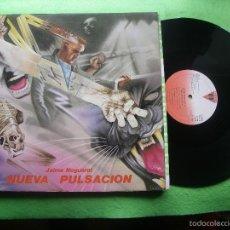 Discos de vinilo: JAIME NOGUEROL. NUEVA PULSACIÓN. VICTORIA, ESP. 1984 LP (PORTADA ABIERTA Y LIBRO COMPLETO) PEPETO. Lote 56744492