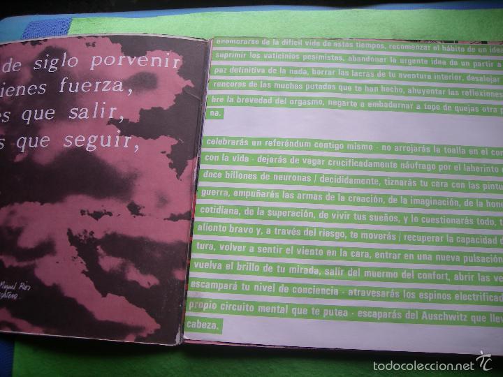Discos de vinilo: Jaime Noguerol. Nueva pulsación. Victoria, Esp. 1984 LP (portada abierta y libro completo) PEPETO - Foto 2 - 56744492
