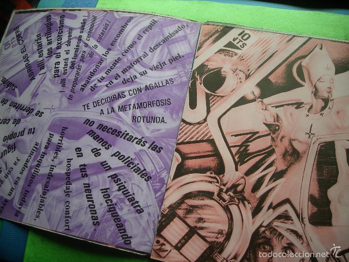 Discos de vinilo: Jaime Noguerol. Nueva pulsación. Victoria, Esp. 1984 LP (portada abierta y libro completo) PEPETO - Foto 3 - 56744492