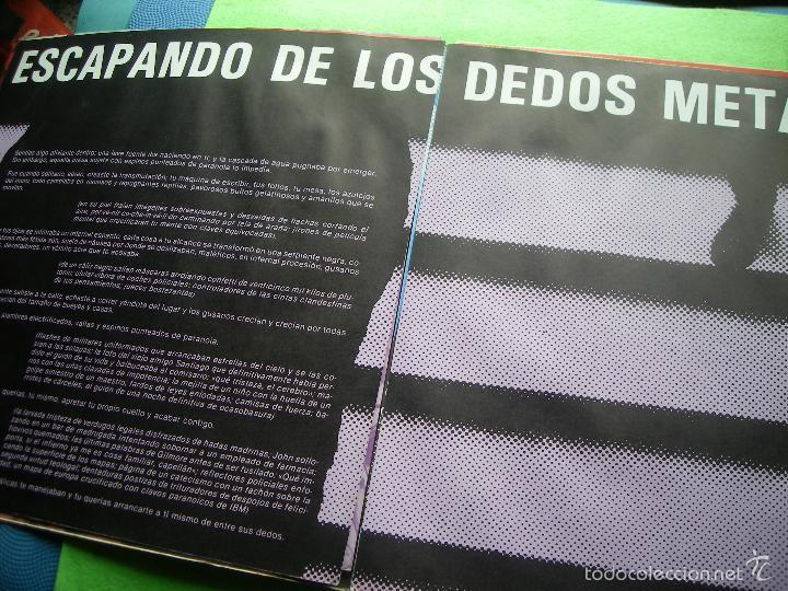 Discos de vinilo: Jaime Noguerol. Nueva pulsación. Victoria, Esp. 1984 LP (portada abierta y libro completo) PEPETO - Foto 5 - 56744492