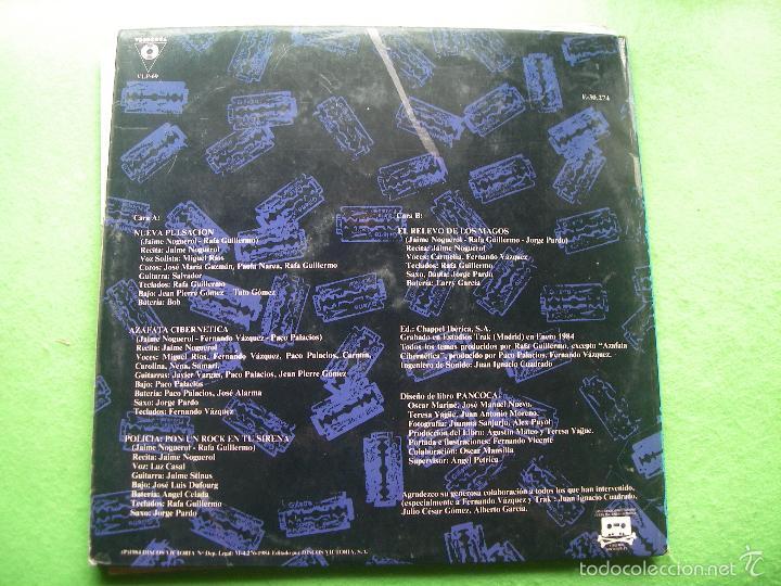 Discos de vinilo: Jaime Noguerol. Nueva pulsación. Victoria, Esp. 1984 LP (portada abierta y libro completo) PEPETO - Foto 19 - 56744492
