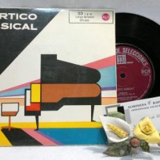 Discos de vinilo: AÑO 1962.- VARIOUS – PORTICO MUSICAL.-RCA READERS DIGEST –VINYL, 7, 33 RPM, EP . ESPAÑA.. Lote 56746276