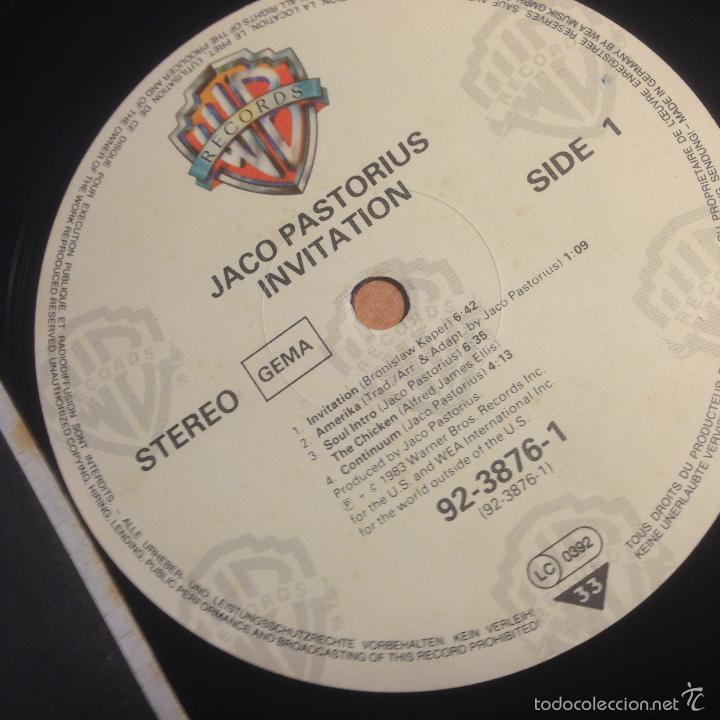 Jaco pastorius invitation lp 1983 92 3876 1 comprar discos lp discos de vinilo jaco pastorius invitation lp 1983 92 3876 1 stopboris Gallery