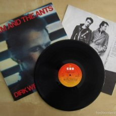 Discos de vinilo: ADAM ANT THE ANTS - DIRK WEARS WHITE SOX - ALBUM DEBUT VINILO ORIGINAL EDICION CBS HOLLAND 1983. Lote 56748533