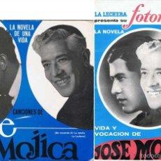 Discos de vinilo: JOSÉ MOJICA. LA NOVELA DE UNA VIDA. EP + FOTONOVELA. Lote 56749927