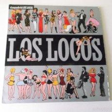 Discos de vinilo: LOS LOCOS EL SEGUNDO DE LOS LOCOS - EL COHETE 1988. Lote 56766880