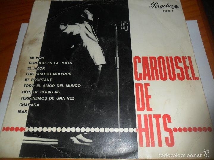 Discos de vinilo: CAROUSEL DE HITS LP 1965 - LOS SONOR CON JORGE, JAIME MOREY, LOS TRES DE CASTILLA.... - Foto 3 - 56796663