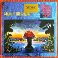 Discos de vinilo: ALLMAN BROTHERS BAND - WHERE IT ALL BEGINS 180G 2 LP PRECINTADO. Lote 56800942