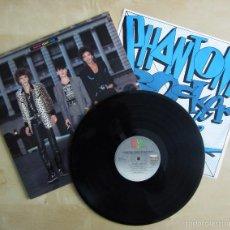 Discos de vinilo: PHANTOM, ROCKER & SLICK - ALBUM DEBUT VINILO ORIGINAL EMI AMERICA RECORDS 1985. Lote 56802557