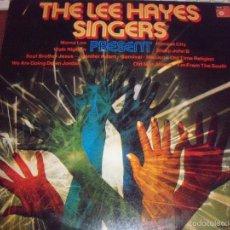 Discos de vinilo: LP DE THE LEE HAYES SINGERS, PRESENT. EDICION BASF DE 1975.. Lote 56804121