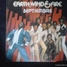 Discos de vinilo: EARTH, WIND & FIRE - SEPTIEMBRE. Lote 56806958