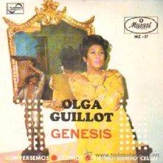 Discos de vinilo: OLGA GUILLOT - GENESIS / CONVERSEMOS / ¿ CÓMO? / YA NO SIENTO CELOS / EP MUSART DE 1969 RF-680. Lote 56811112